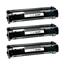 Logic-Seek 3 Toner kompatibel zu Canon FX-8 8955A001 HC Schwarz
