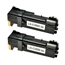 Logic-Seek 2 Toner kompatibel zu Epson C2900 0630 C13S050630 HC Schwarz