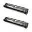 Logic-Seek 2 Toner kompatibel zu Epson C900 C1900 S050100 C13S050100 HC Schwarz