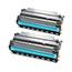 Logic-Seek 2 Toner kompatibel zu Epson EPL-N3000 S051111 C13S051111 HC Schwarz