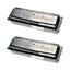 Logic-Seek 2 Toner kompatibel zu Epson M2000 XXL 0435 C13S050435 HC Schwarz