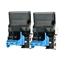 Logic-Seek 2 Toner kompatibel zu Konica Minolta 4750 TNP-18K A0X5150 HC Schwarz