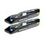 Logic-Seek 2 Toner kompatibel zu Kyocera TK-865K 1T02JZ0EU0 HC Schwarz
