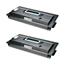 Logic-Seek 2 Toner kompatibel zu Kyocera TK-70 370AC010 HC Schwarz