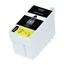 Logic-Seek  Tintenpatrone kompatibel zu Epson Stylus WF3620 T2711 C13T27114010 XL Schwarz