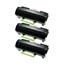 Logic-Seek 3 Toner kompatibel zu Lexmark MX710 MX810 620XA 62D0XA0 UHC Schwarz