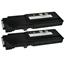 Logic-Seek 2 Toner kompatibel zu Dell C2660 XL Y5CW4 593-BBBQ HC Schwarz
