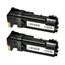 Logic-Seek 2 Toner kompatibel zu Xerox Phaser 6500 106R01597 HC Schwarz