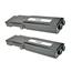 Logic-Seek 2 Toner kompatibel zu Xerox Phaser 6600 106R02232 HC Schwarz