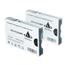 Logic-Seek 2 Tintenpatronen kompatibel zu Epson Pro 7800 9800 T6128 C13T612800 XL Matt Schwarz