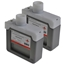 Logic-Seek 2 Tintenpatronen kompatibel zu Canon PFI-301R 1492B001 XL Rot