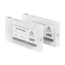 Logic-Seek 2 Tintenpatronen kompatibel zu Epson Pro 4900 T6537 C13T653700 XL Hell Schwarz