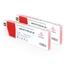 Logic-Seek 2 Tintenpatronen kompatibel zu Mimaki JV3 SPC0380LM XL Hell Magenta