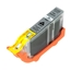 Logic-Seek  Tintenpatrone kompatibel zu Canon CLI-42GY 6390B001 XL Grau