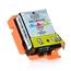 Logic-Seek  Tintenpatrone kompatibel zu Epson Stylus WF100 267 C13T26704010 XL Color
