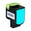 Logic-Seek  Toner kompatibel zu Lexmark CX310 802C 80C20C0 HC Cyan