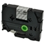 Logic-Seek 1x Schriftband kompatibel zu Brother TZE-115, Weiss auf Transparent, 6mm x 8m