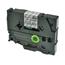 Logic-Seek 1x Schriftband kompatibel zu Brother TZE-121, Schwarz auf Transparent, 9mm x 8m