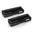 Logic-Seek 2 Toner kompatibel zu Ricoh Aficio SPC 250 407543 HC Schwarz