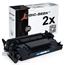 Logic-Seek 2 Toner kompatibel zu HP 26A CF226A HC Schwarz