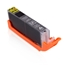 Logic-Seek  Tintenpatrone kompatibel zu Canon CLI-581BKXXL 1998C001 XXL Schwarz
