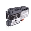 Logic-Seek  Tintenpatrone kompatibel zu Brother LC-3233BK Schwarz