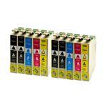 Whitebox Set 10 Patronen für Epson T1811-T1814